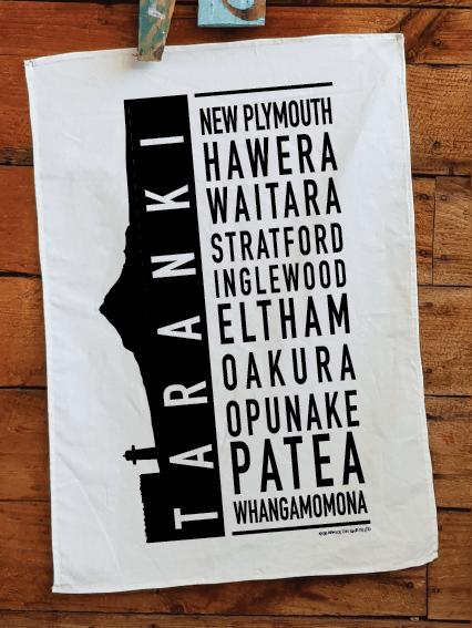 Taranaki Printed Teatowel