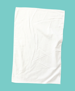 Blank White Tea Towels For Printing