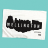 Wellington tea towel