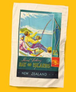 Bay of Islands Tea Towel - NZ Rail