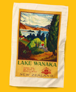 Lake Wanaka Tea Towel - NZ Rail