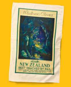 Waitomo Tea Towel - NZ Rail
