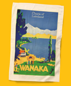 Wanaka Tea Towel Printed