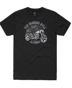 OBR Motorcycle Built to Ride Printed Tee